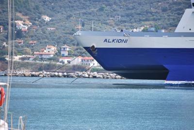 Skopelos uostas