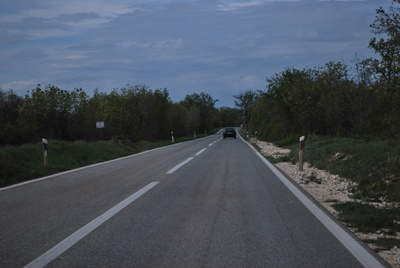 Keliai Kroatijoje