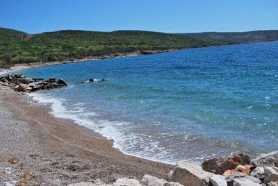 Punat beach