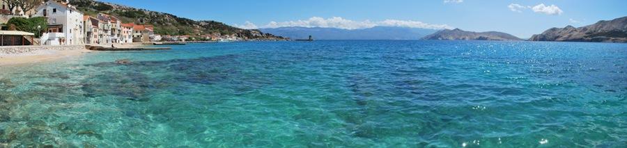 Panorama nuo molo