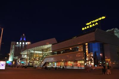 Traukiniu stotis Minske