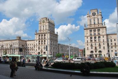 Stoties rajonas Minske