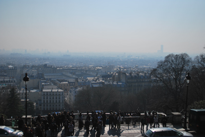 Paryzius nuo Sacre Coeur
