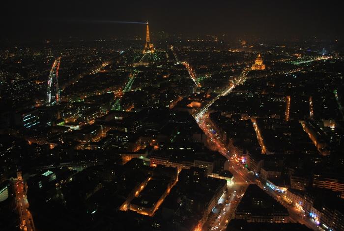 Paris from Montparnasse