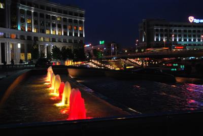 Fontaneliai prie KazMunayGaz