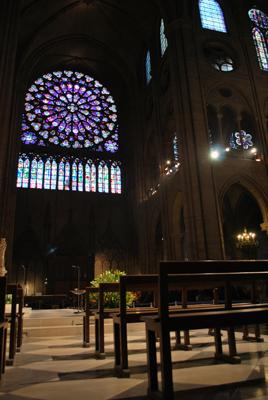 Notre Dame viduje