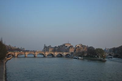 Ile de la Cite nuo Pont des Arts
